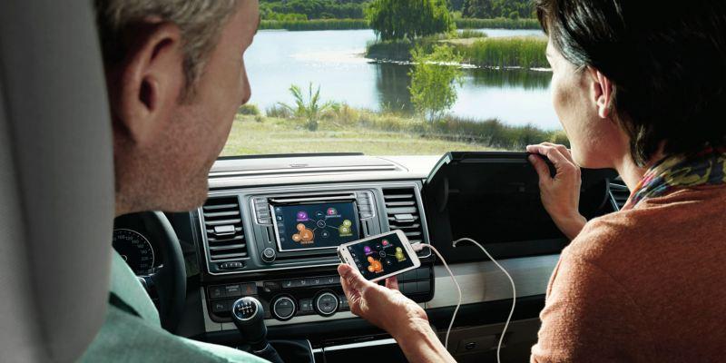 Volkswagen comerciales Grand California Tecnología App-Connect
