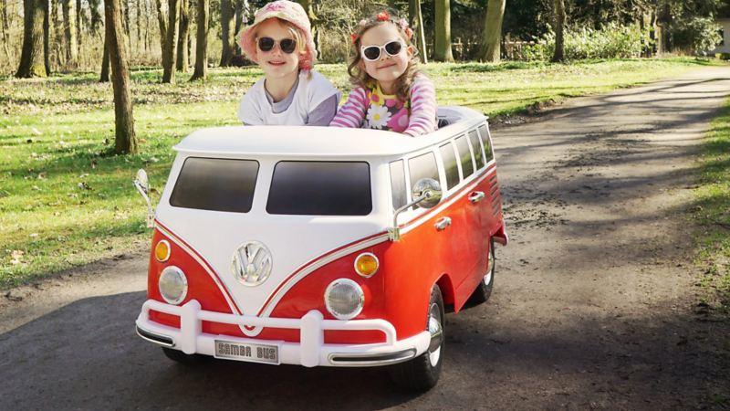 Volkswagen elétrico para crianças