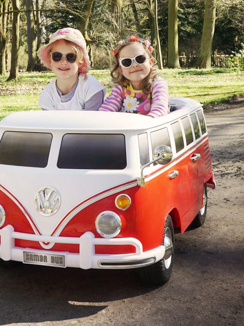 Kinder-Elektroauto VW Bus