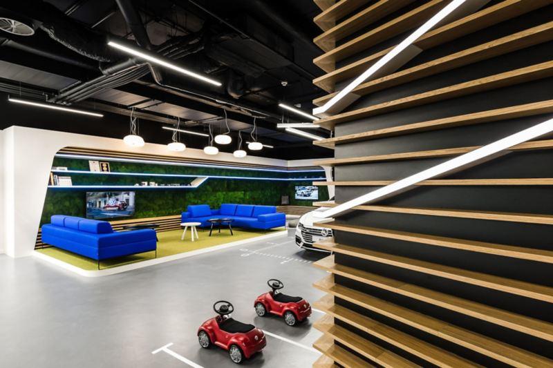 Wnętrze VW Home