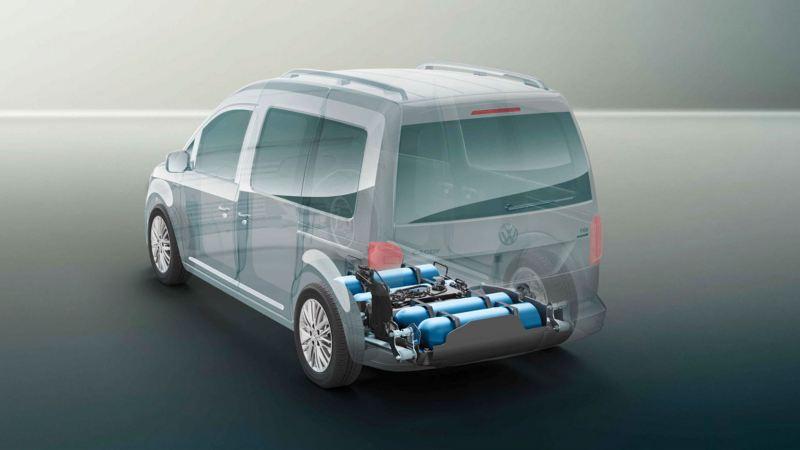 motor gnc y gasolina caddy gnc