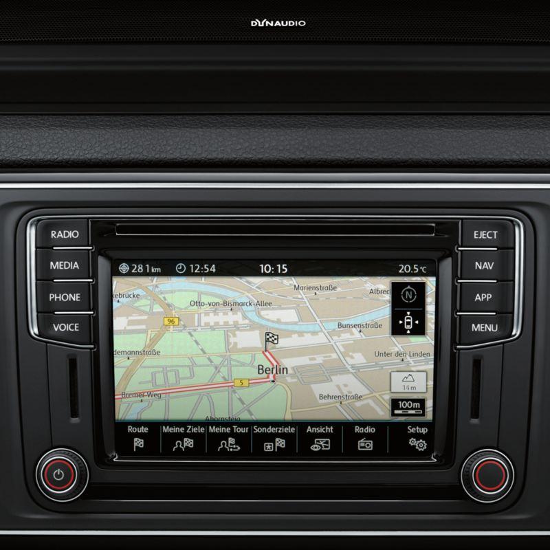 sistema de navegación discover media volkswagen caravelle