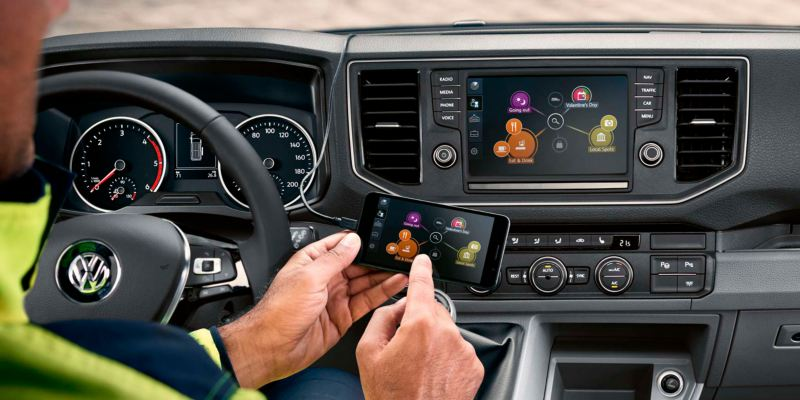 volkswagen crafter app connect