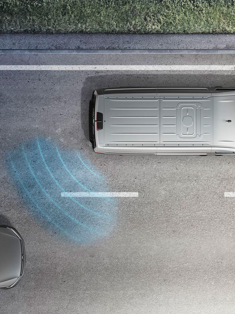 Volkswagen comerciales Caravelle 6.1. Asistente de cambio de carril