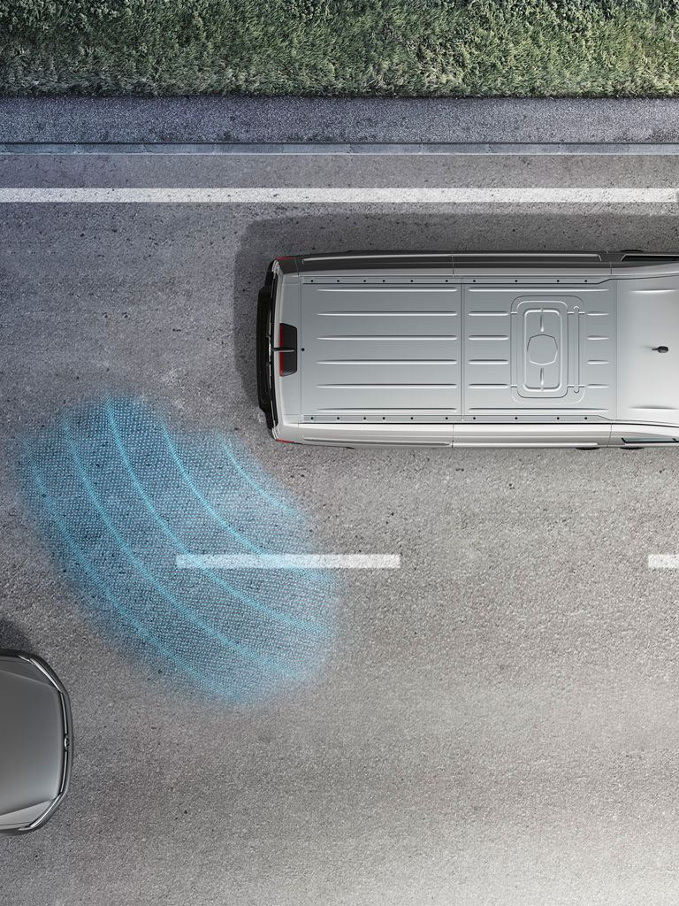 Volkswagen comerciales Grand California Asistente de cambio de carril