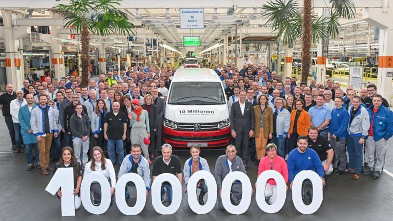 Pressemelding Volkswagen Nyttekjøretøy 10 millioner solgte nyttekjøretøy salgstall 2019