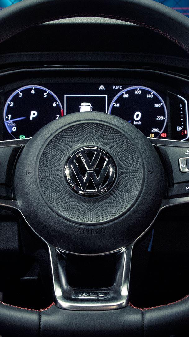 Volante y digital Cockpit de Volkswagen para mejorar la experiencia de manejo del conductor