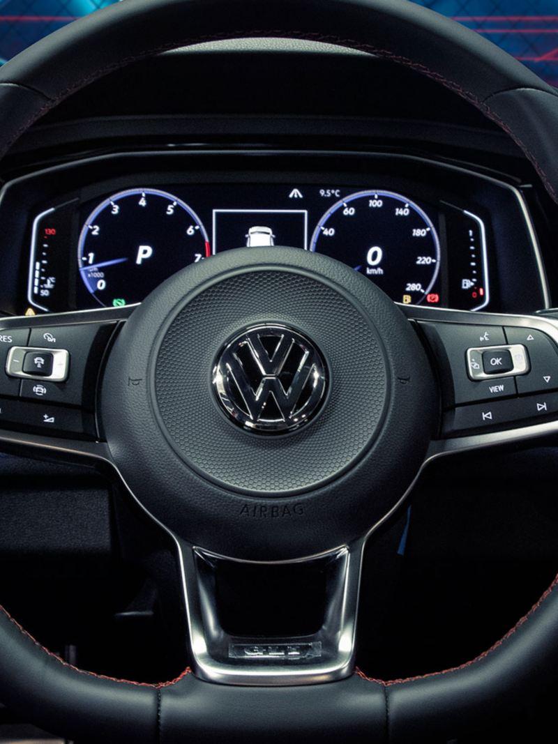 Tablero equipado con Digital Cockpit para leer los indicadores de tu automóvil Volkswagen