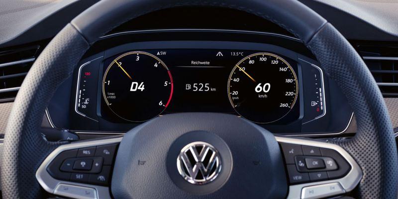 Detalle del Digital Cockpit del Volkswagen Passat Alltrack