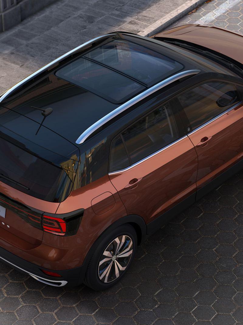 T-Cross el SUV de Volkswagen con la mejor tecnología en color bronce namibia