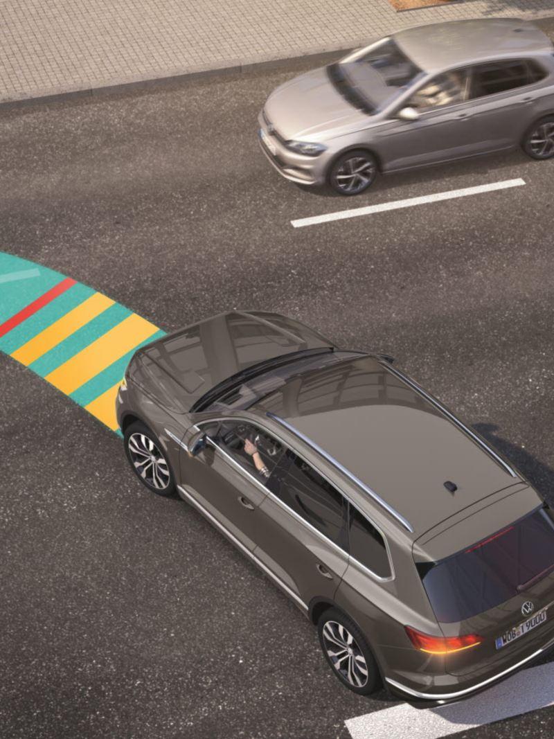 폭스바겐 운전자 보조 시스템 전방 크로스 트래픽 어시스트