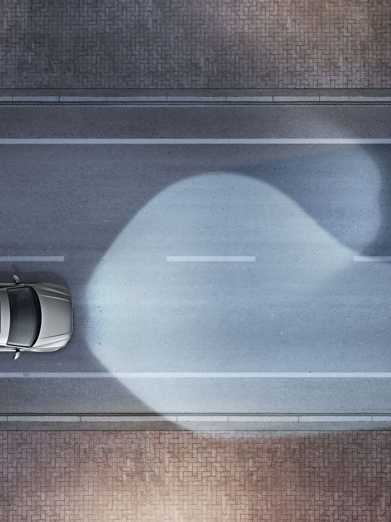 Gráfico del asistente dinámico del luz del Volkswagen Tiguan