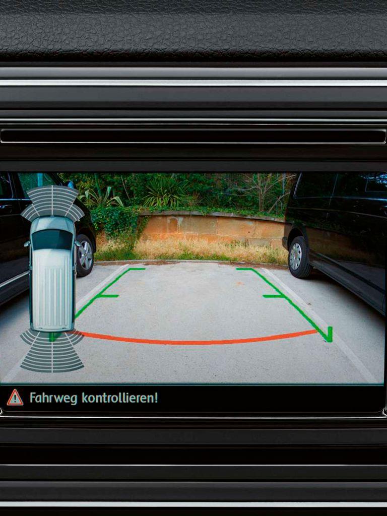 Volkswagen comerciales Grand California Camara de visión trasera