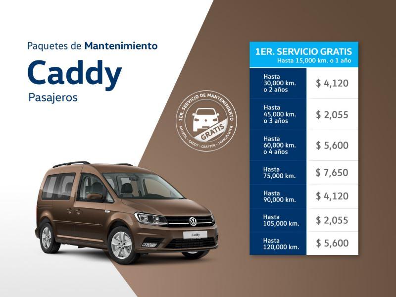 Servicio de mantenimiento Caddy Pasajeros