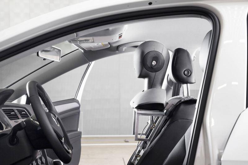 Stereosound-Aufnahme in einem Volkswagen