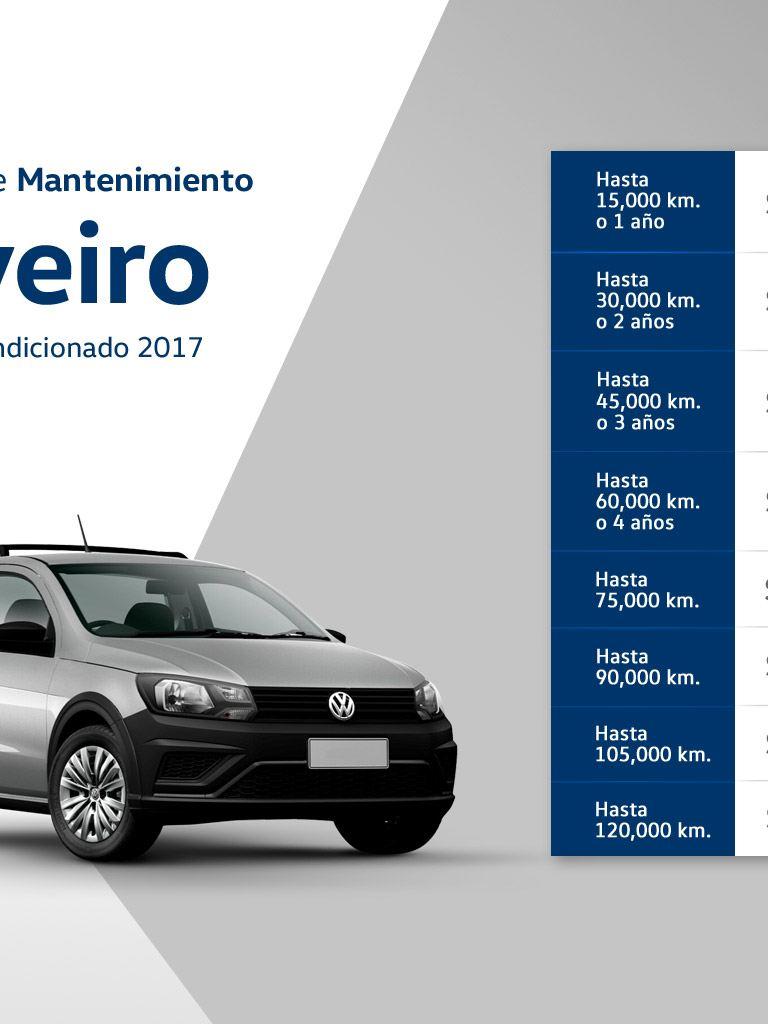 Precios mantenimiento Volkswagen Saveiro