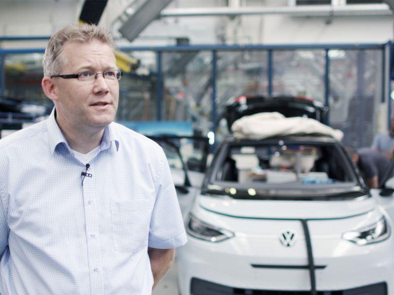 Sven Köhler a ser entrevistado