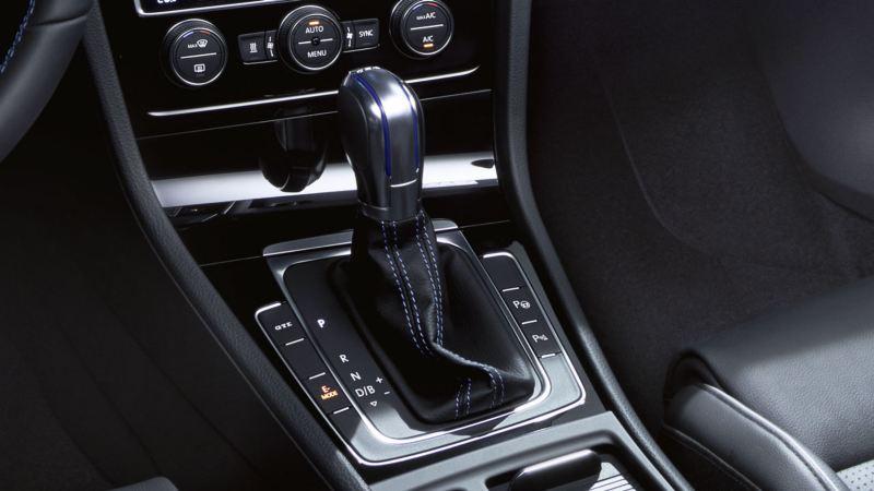 Caja de cambios de un Golf GTE