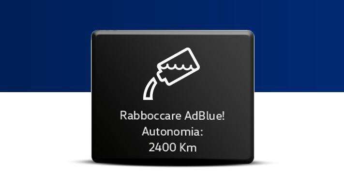 Indicatore rabbocco AdBlue 2400 km