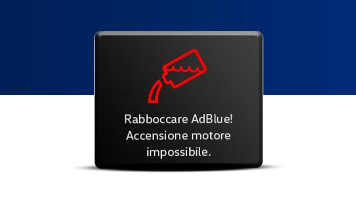 Indicatore rabbocco AdBlue