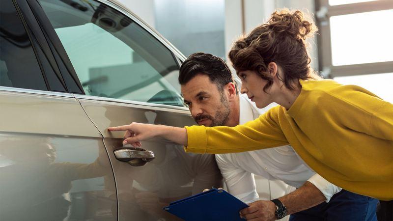 Servizio riparazione carrozzeria Volkswagen