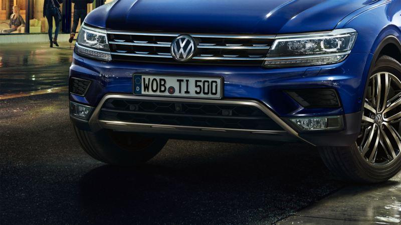 Dettaglio paraurti Volkswagen