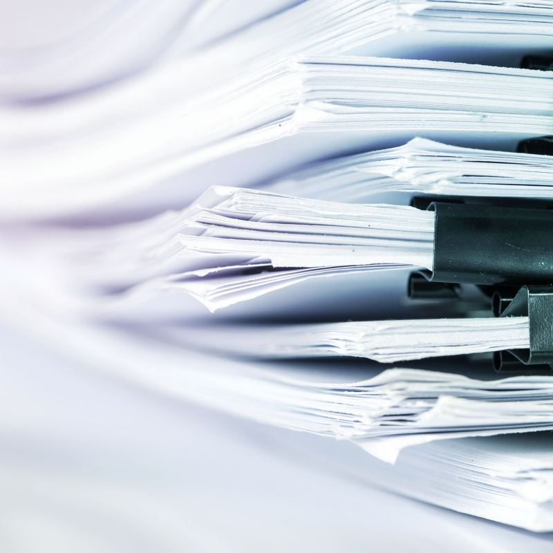 Pila di documenti