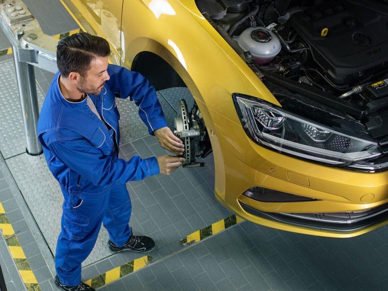 Volkswagen Service controllo sospensioni