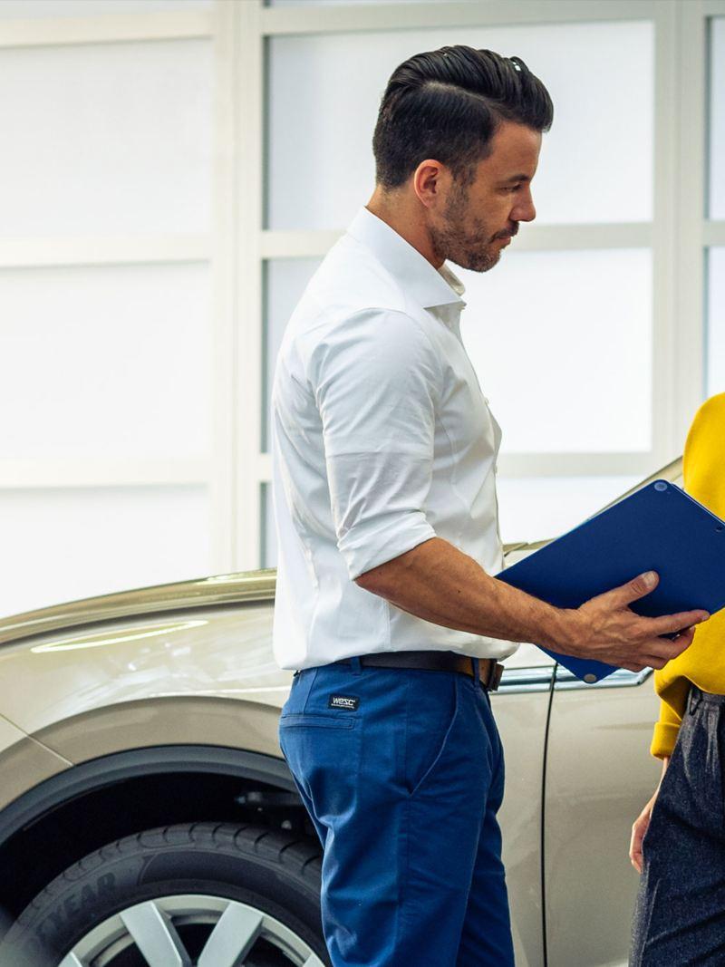 Volkswagen certified technicians