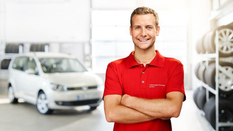 Addetto Volkswagen Service