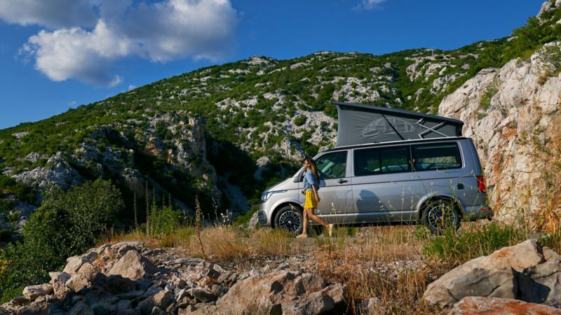 Volkswagen California Beach con pneumatici all-season.