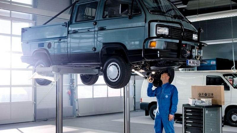 Entretien d'un véhicule de collection Volkswagene chez un Réparateur Agréé
