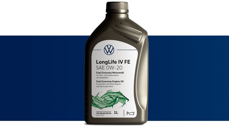 Volkswagen Genuine Fuel Economy Engine oil LongLife IV FE