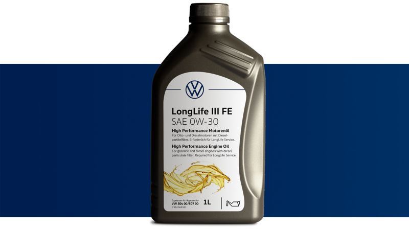 Volkswagen Genuine High Performance Engine oil LongLife III FE
