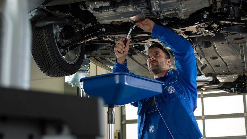 Cambio olio Volkswagen Service