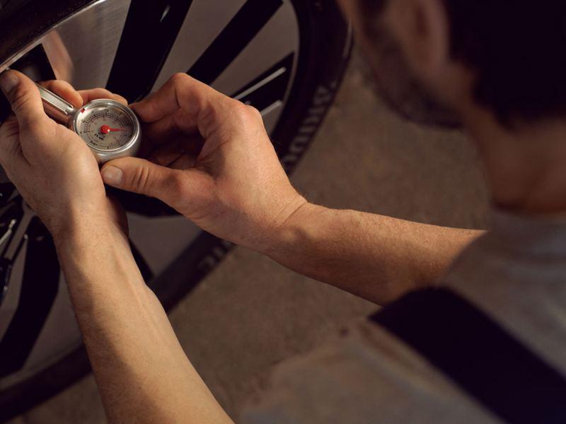 volkswagen 輪胎壓力