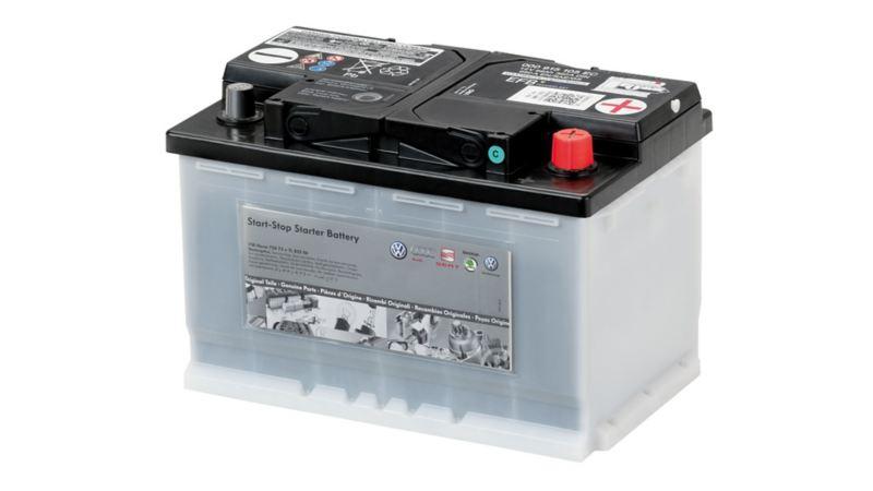 車のあらゆる電装品に電気を供給するバッテリー