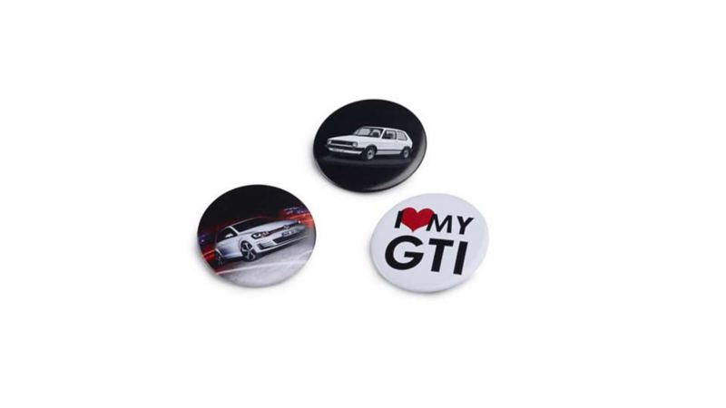 GTI 缶バッジ3個セット