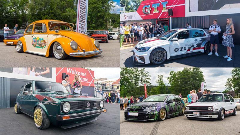 毎年20万人以上が来場する、オーストリアでのVolkswagenのファンイベント「Wörthersee 2017」の様子。