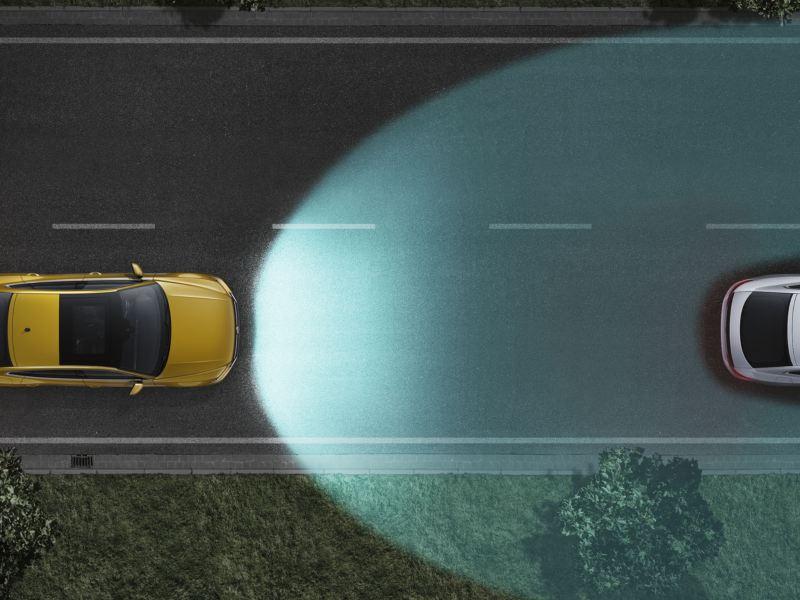 volkswagen arteon asistente dinamico de luz