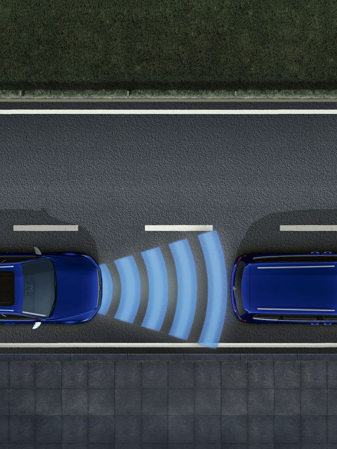 Asistente para atascos del Volkswagen Passat GTE
