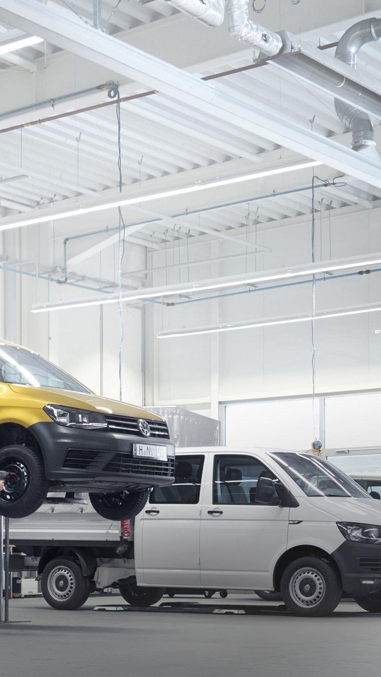 Garage van een Volkswagen Bedrijfswagens dealer