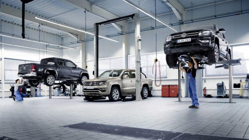 Volkswagen bedrijfswagens garage