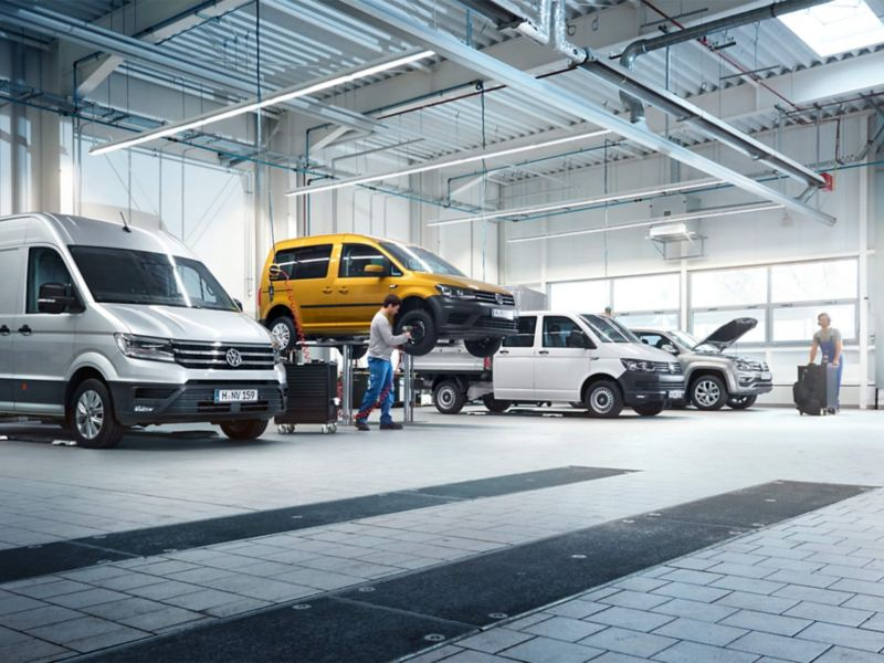 Garantie van Volkswagen Bedrijfswagens