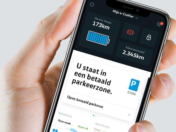 Mijn VW bedrijfswagen App