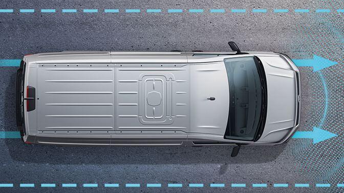 Bestuurdershulpsystemen van Volkswagen Bedrijfswagen