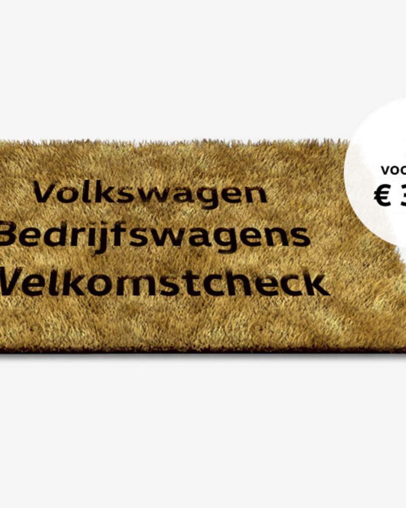 Welkomstcheck van Volkswagen Bedrijfswagens