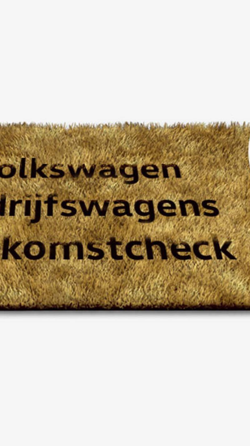 Welkomscheck
