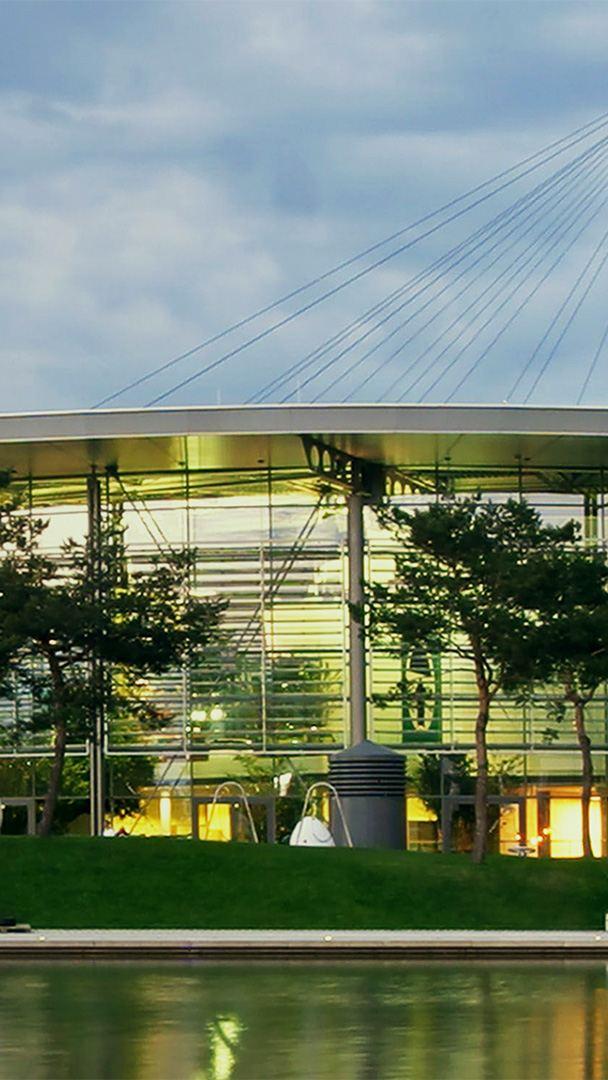 Panorama of Volkswagen's Wolfsburg site