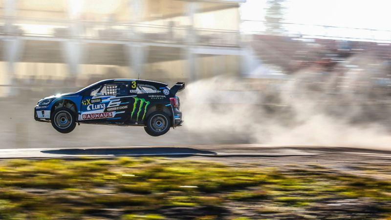Flygande rallybil, Johan Kristoffersson, VW